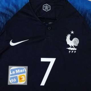 France, Colombia & Russia World Cup Jersey