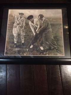 Brand new 3 Stooges painting