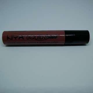 NYX Cosmetics Liquid Suede Cream Lipstick - Soft-Spoken Mauve Nude (Opened but Never Used)