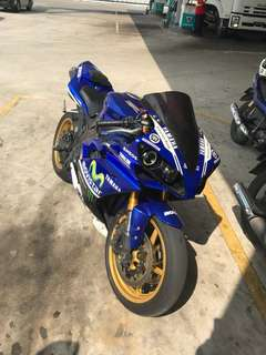 Yamaha R1 2008 trek bike
