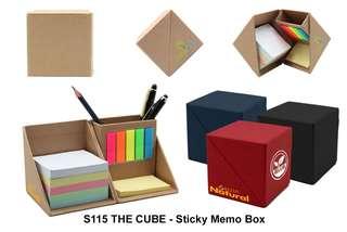 Wholesale THE CUBE - Sticky Memo Box