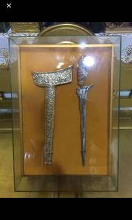 Keris Taming Sari with Real Gold Plating 24K