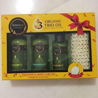BN Botaneco Garden Organic Trio Oil Body Care Set