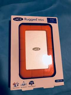 BNIB LaCie Rugged Mini 1TB