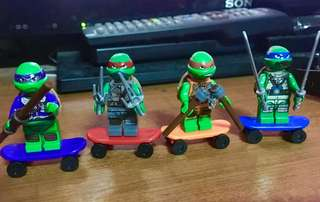 Lego teenage mutant ninja turtle