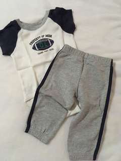 Onesie & Pants Set