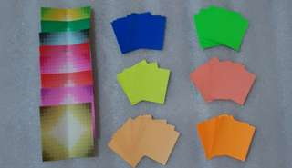 Free Colourful Origami Paper