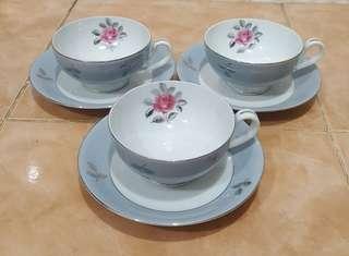 antique fine seyei china porcelain tea set 3