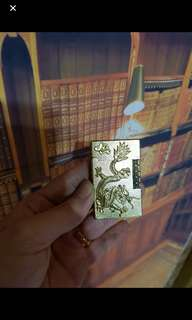Antique zippo dragon lighter