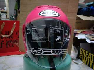 ARC RITZ PINK EDITION OPEN FACE HELMET