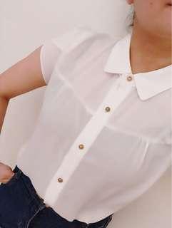 🚚 White shirt 👚 made in Korea