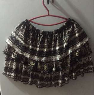 Aztec Short Skirt