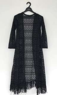 Lace long-outer
