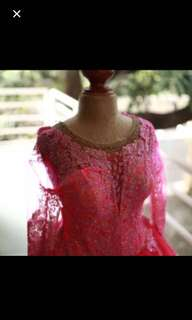 Pink ball gown negotiable