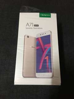 Oppo A71 brand new complete open line