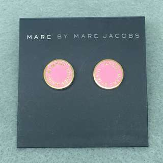 Marc By Marc Jacobs Sample Earrings 粉紅色配金色耳環