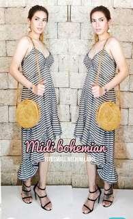 Midi Bohemian Dress