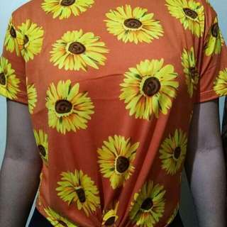 Sunflower top for 100.00