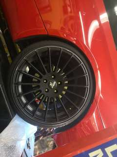"Bmw 20"" Hamann design rim and tyres"