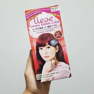 Liese Creamy Bubble Hair Color Maple Red