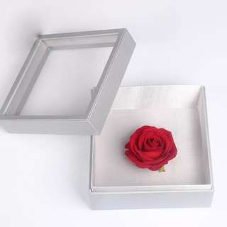 Flowers & Gifts Box-Classic Box PVC Leather with Transparent Cover