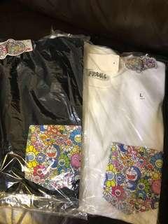 現貨(S-XL)UNIQLO  x Doraemon 村上隆哆啦A夢叮噹限量版T恤短袖上衣