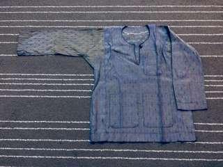Baju Melayu 2 tone