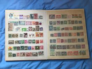 Stamp Collection 40s - 80s