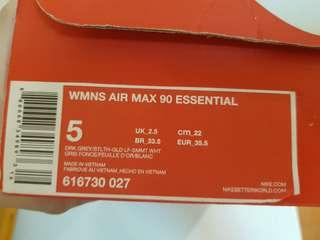 WOMENS NIKE AIR MAX 90 ESSENTIAL