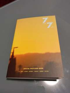 Got7 7 for 7 postcard book