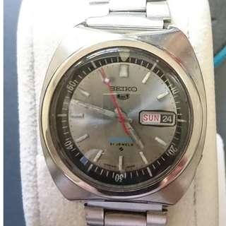 [父親節優惠,買任何一隻九折,買任何兩隻或以上八折,優惠期至6月20日] Vintage (精工) Seiko 5 Sports 6119-6020s