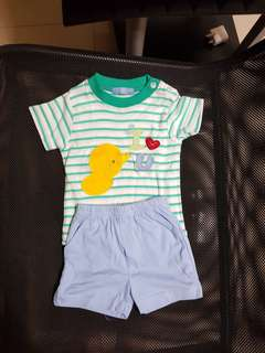 Baby shirt set