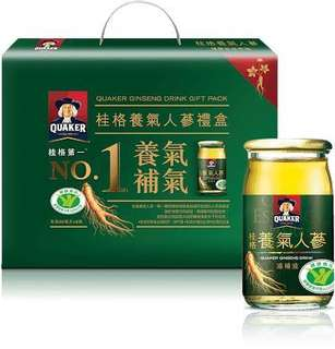 New Quaker Ginseng Drink Gift Pack