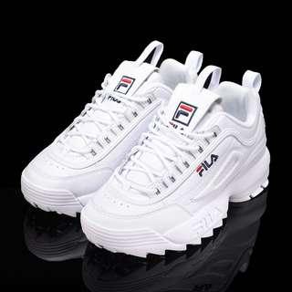 🚚 FILA disruptor 2 鋸齒鞋