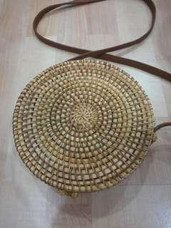 Handmade Rattan Bag brand new