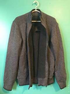 Fleece zip up - large