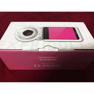Casio Exilim EX-FR100L FR100L Action Digital Camera+ Bundle Accessories