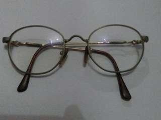 Kacamata vintage eyewear marchon italy 22k - GP