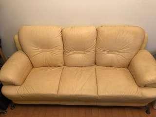 三人座沙發