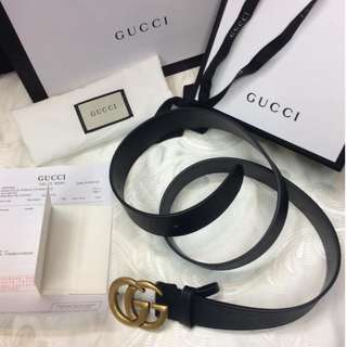 GUCCI BELT AUTHENTIC
