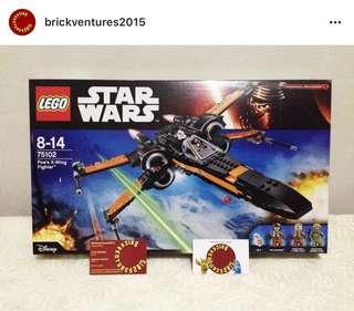 Lego 75102 Poe's X-wing Fighter Lego Starwars