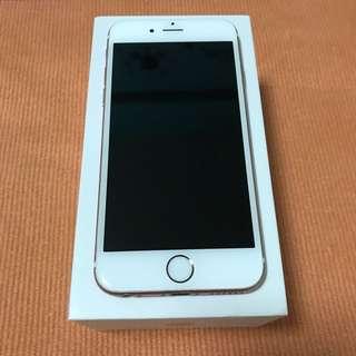 Iphone 6S Rose Gold 128GB (Pristine condition)