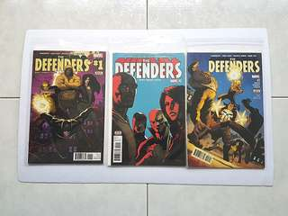 Marvel Comics  The Defenders 1 to 3 Near Mint Condition Netflix Television Show