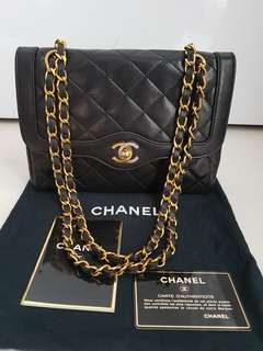 Chanel Limited Edition Two Tone Flap