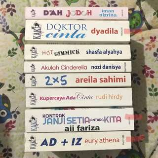 Koleksi Kaki Novel