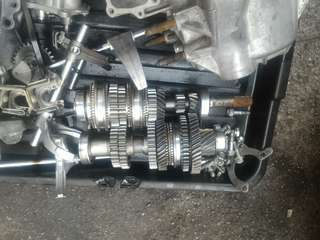 Complete Ratio Gearbox for campro