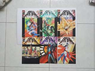 Top Cow Battle of The Planets Complete 6 Issue Mini-Series Near Mint Condition Alex Ross Covers