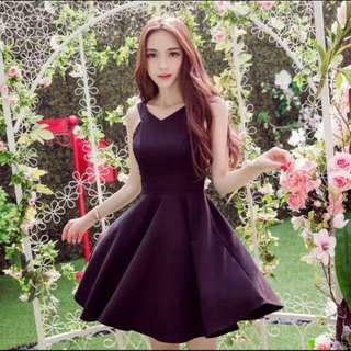 BN Pretty Black Skater Dress