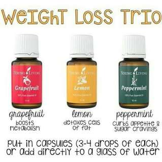 BACA DESC! Weight Loss Young Living Combine