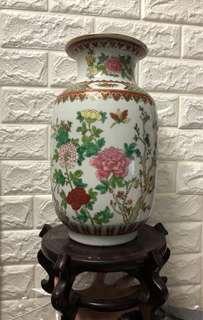 新年 獨特 花瓶 花樽 擺設 連木架 原價過千